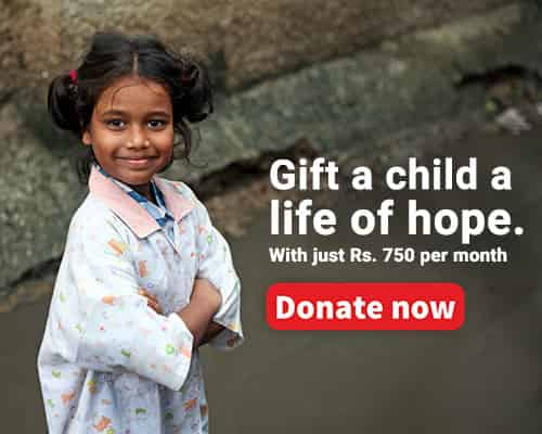 Sponsor a child today | Help children in need | Donate to