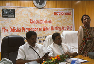 Consultation on The Odisha Prevention of Witch Hunting Act, 2013