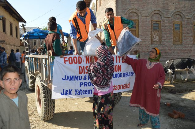 Food distribution-rakhiduslipora-pattan block