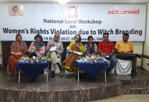 National Level Workshop on Women's Rights Violation due to Witch Branding