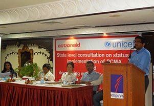 State Level Consultation on Status implement of PCMA and Developing Monitoring Framework