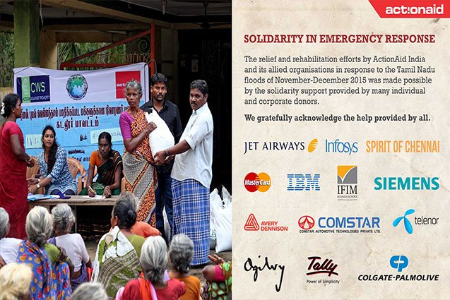 Solidarity in Emergency Response-The case of the 2015 Tamil Nadu Floods1