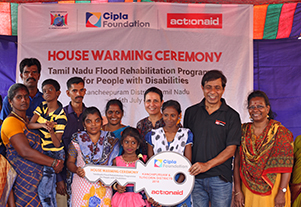 House Warming Ceremony – Tamil Nadu Flood Rehabilitation Programme for People with Disabilities