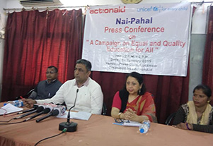 Press Conference Campaign on Equal and Quality of Education for all
