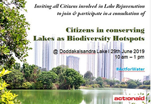 Consultation on Citizen in Conserving Lakes has Biodiversity Hotspots
