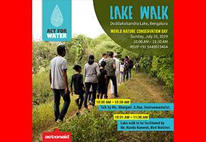 Lake Walk – Doddakalsandra Lake, Bengaluru