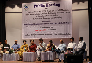 Public Hearing on Violation of RTE Act, 2015
