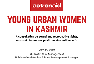 Young Urban Women in Kashmir