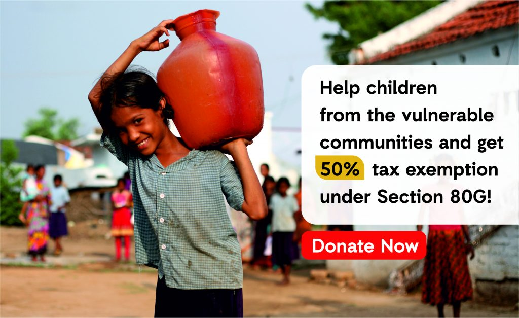 Act For Childen; Child Education Donation; Donate Save Tax 80 g; Tax Exemption; 80g;