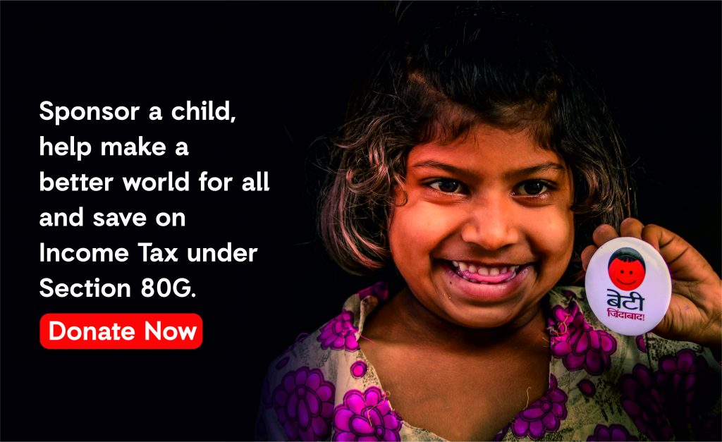 Investment plan; Charitable Donation; Donation under 80G; Save Tax; Help Child;
